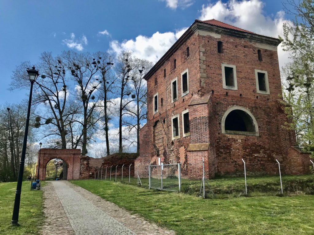 Zamek w Gołańczy