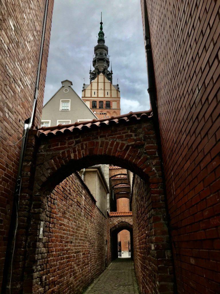 Ścieżka Kościelna w Elblągu