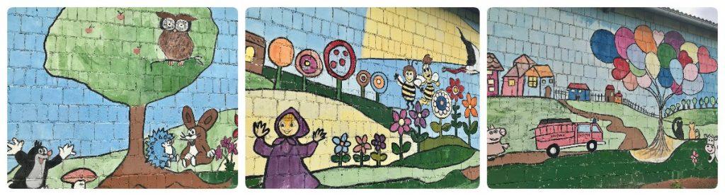 Mural Bajkowy w Brodnicy